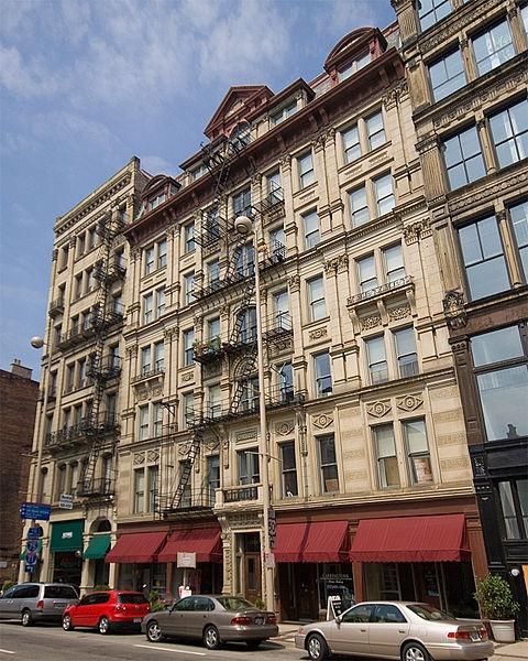 Downtown Dc Apartments: The Lombardy Apartment Building Is A Historic Apartment