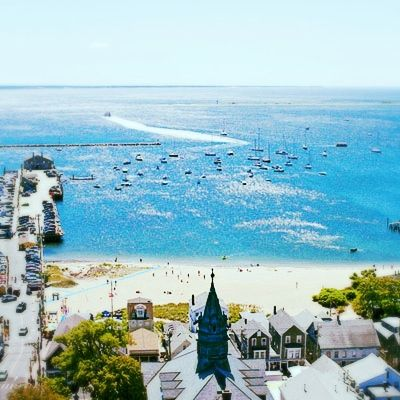 America's Happiest Seaside Towns: Provincetown, Massachusetts. Positioned at the very end of Cape Cod, Provincetown is a genuine outpost of welcome, and has been for centuries. The first landfall of England's Puritans, it grew as a fishing settlement, attracted artists with its renowned light, and now proudly proclaims itself a thriving destination for gay America. Coastalliving.com