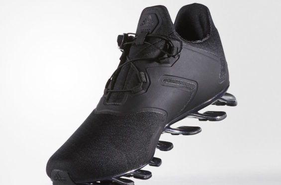 http://SneakersCartel.com The adidas Springblade Solyce Will Soon Release In Triple Black #sneakers #shoes #kicks #jordan #lebron #nba #nike #adidas #reebok #airjordan #sneakerhead #fashion #sneakerscartel