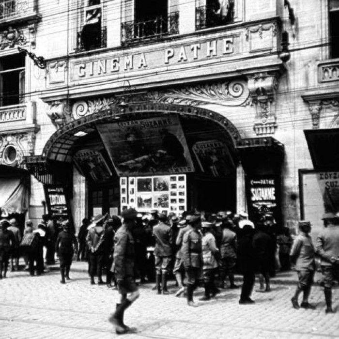 Το 2ο σινεμα στην Θεσσαλονικη καπου στην παραλιακη το 1911