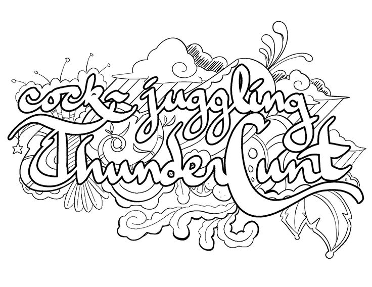 cock juggling thunder cunt coloring page by colorful language 2015 posted with