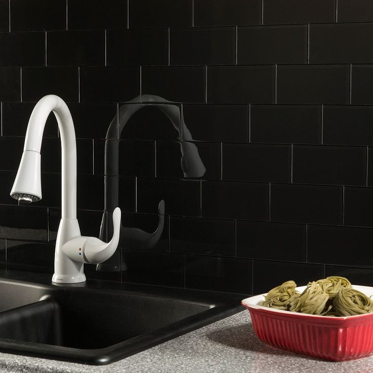 KITCHEN:Glass aspect is a decorative glass tile that provides the look of custom glass backsplash at a fraction of the cost.