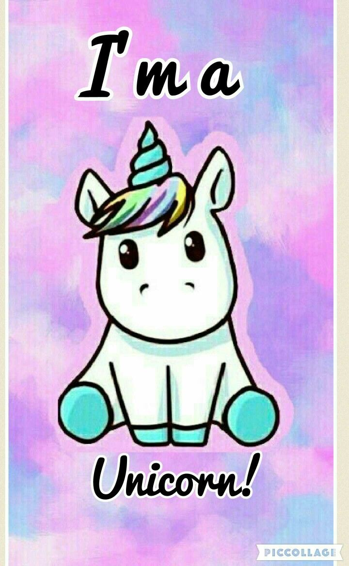 I'm a unicorn!! Not a human lol #unicorn#cute#adorable#colorful