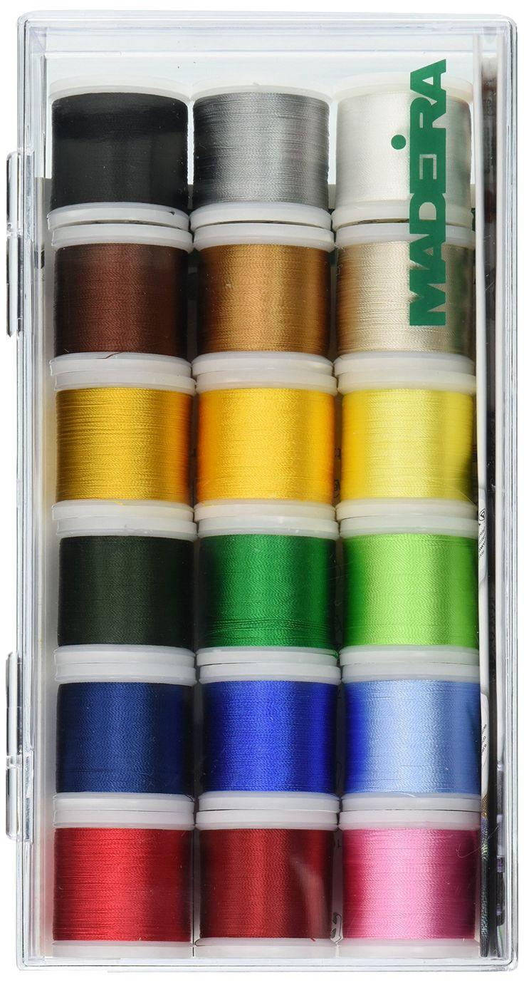 The 25 best madeira thread ideas on pinterest margaret sherry tacony corporation madeira rayon thread sampler 18 spools nvjuhfo Images