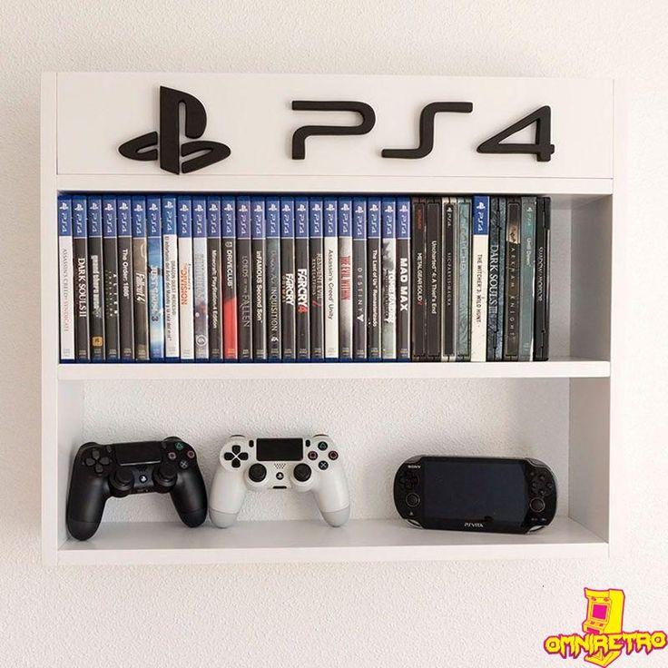 Estantería Para Juegos, Ps4, Xbox, Nintendo In 2019