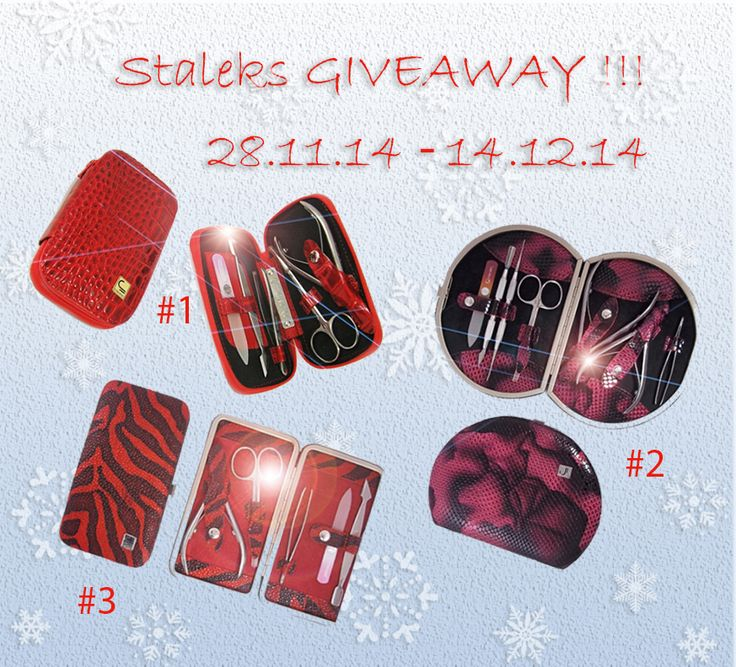Will try today : GIVEAWAY от Staleks!  http://alenabliss.blogspot.ru/2014/11/giveaway-staleks.html