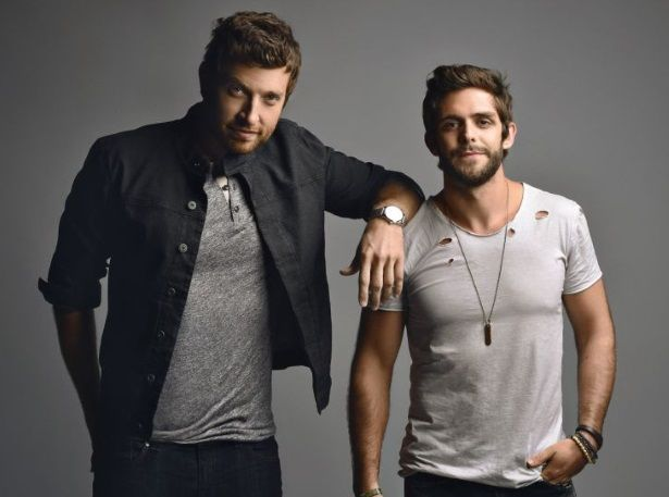 Brett Eldredge, Thomas Rhett Suits and Boots Tour Chaifetz Arena 11/20/15
