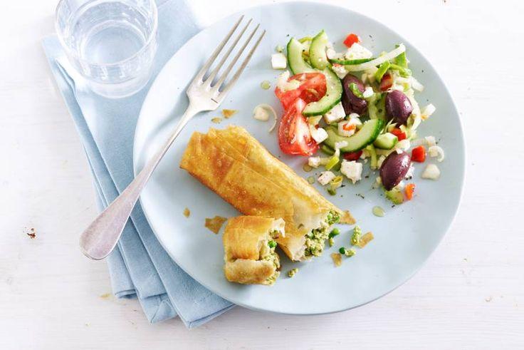 filodeegpakketjes met tonijn