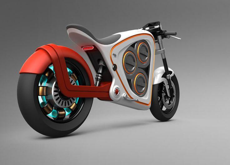 Nice electric bike concept | repinned by www.BlickeDeeler.de | Follow us on www.facebook.com/BlickeDeeler.de