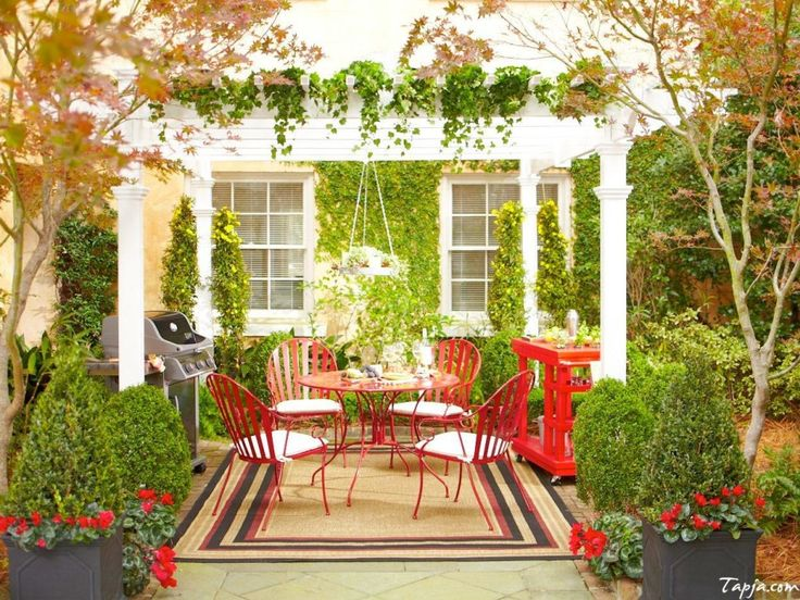 Outdoor creating peaceful garden with incredible pergola design ideas stylish white pergola for beautiful flower garden decor idea