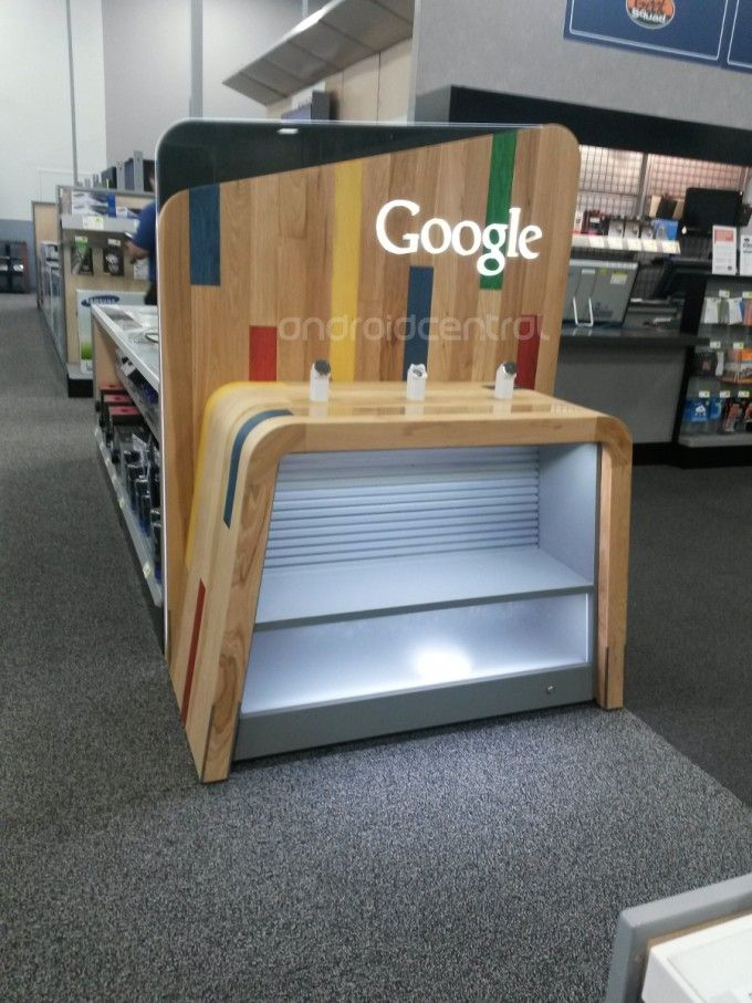Mystery Google display case appears at Best Buy - http://www.aivanet.com/2013/10/mystery-google-display-case-appears-at-best-buy/