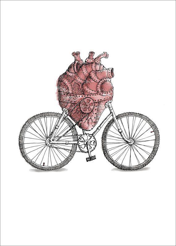 Bewahre die Gesundheit Deines Herzens auf zwei Rädern..