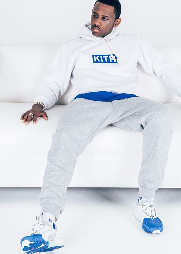 Fabolous in the Ronnie Fieg x colette x PUMA Disc Blaze