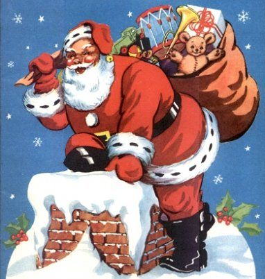 imagenes-papa-noel-g.jpg: Santa Clause, Christmas Music, Vintage Christmas, Christmas Santa, Vintage Santa, Families Christmas, Christmas Eve, Deliv Toys, Christmas Vintage