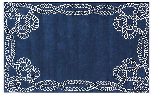Lydia Rug, Royal Blue | Color Code | One Kings Lane