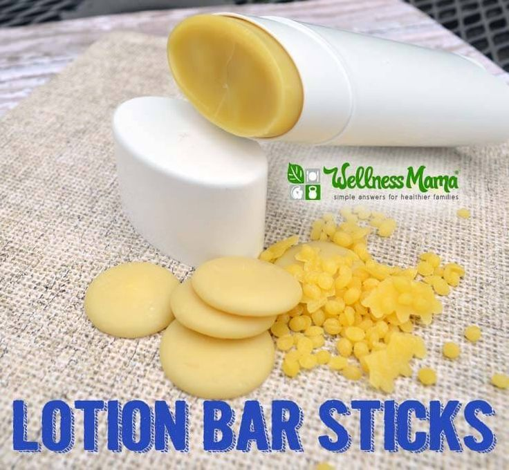 How to Make Lotion Bar Sticks - make your homemade natural lotion convenient for application with these DIY lotion bar sticks :-)