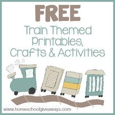 FREE Train Printables