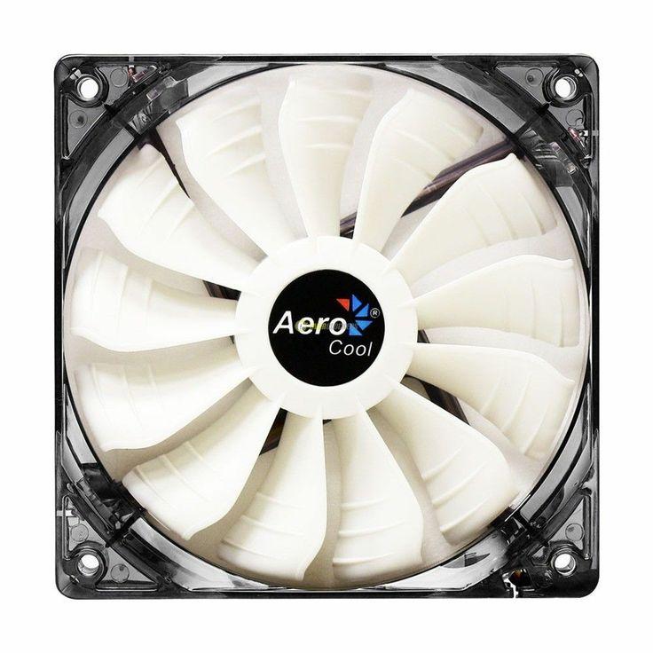 Aerocool Air Force Ventola da 120mm White Led dissipatore 12cm cabinet fan case