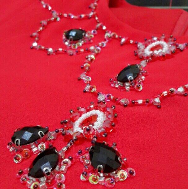 Beading.. necklace pattern