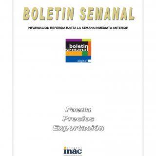 Montevideo, 1 de noviembre de 2012 INFORMACION REFERIDA HASTA LA SEMANA INMEDIATA ANTERIORIMPORTANTE: La reproducción total o parcial de la información cont. http://slidehot.com/resources/inac-boletin-semanal-27102012.41086/