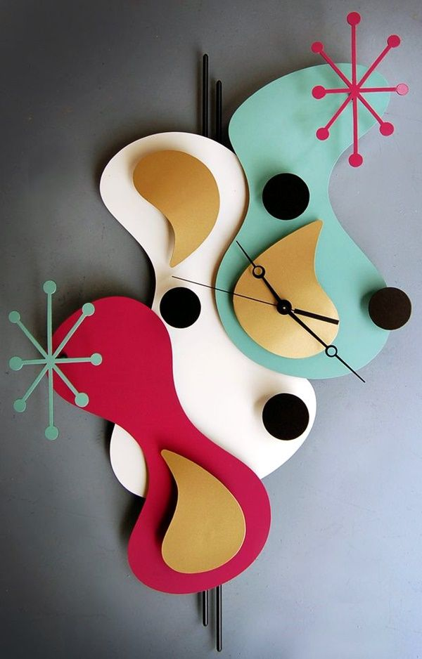 Fabulas Wall Clocks to embrace Your Home Entrance (19)
