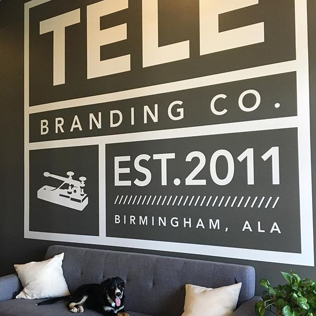 Telegraph creative wall mural graphicdesigner graphics graphicdesign graphic designer logo illustrator typography creative mural instagraffiti