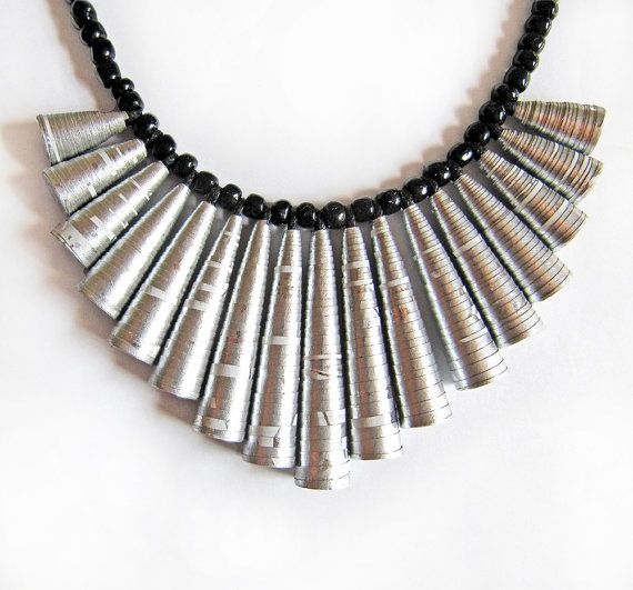 118 best images about upcycled jewellery and paper bead