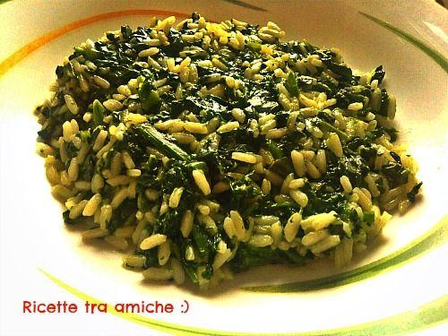 Risotto+agli+spinaci+e+parmigiano