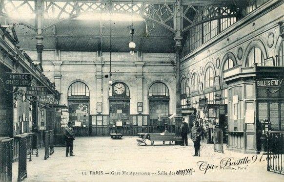 Gare Montparnasse - Cliquez sur la carte pour l'agrandir et en voir tous les détails