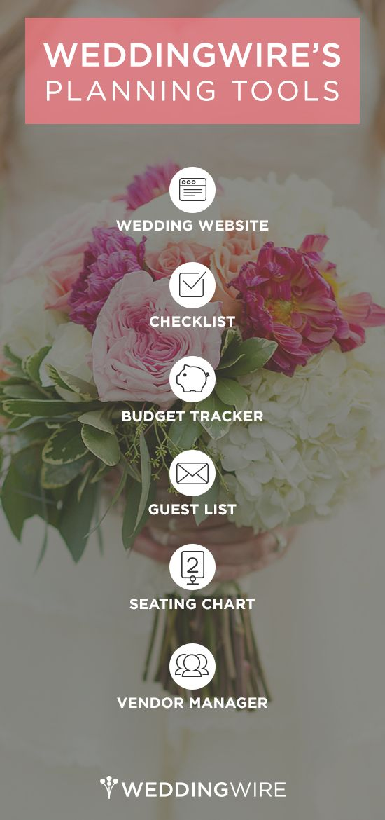 Everything you need to plan your dream wedding! Sign up to use all of our FREE wedding planning tools!