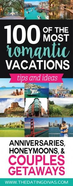 100+ Most Romantic Couples Vacations and Honeymoons