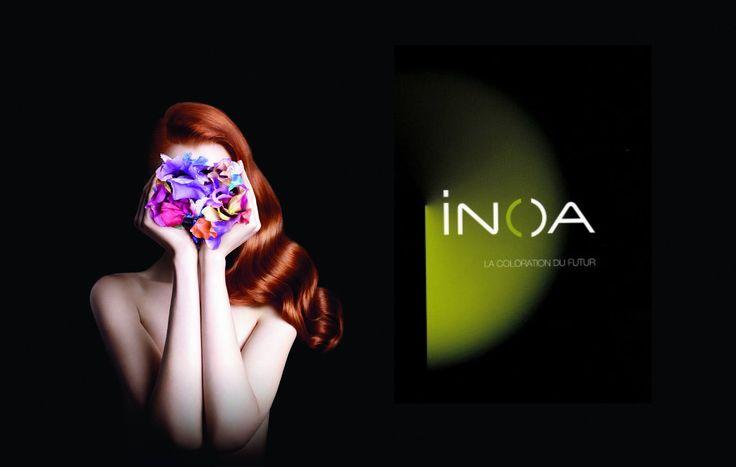Inoa - Cent après la naissance de sa première coloration la Recherche L'Oréal crée Inoa, une nouvelle formule plus safe, plus cosmétique, plus éclatante et surtout sans ammoniaque.