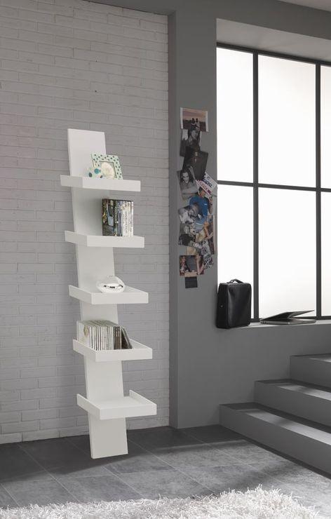 Scala White Lacquered Bookcase (Bookcases & shelf) | image 2