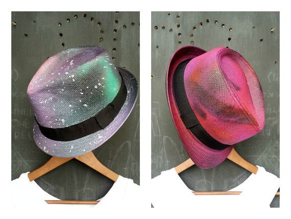Space Mad Combo  Infrared and Galaxy Set  by FeatherheadOnEtsy, $110.00
