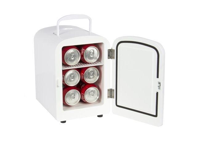 Newegg.Com - Portable Mini Fridge Cooler and Warmer Auto Car Boat Home Office AC & DC White