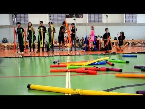 The Pink Panter, Boomwhackers Arrangments - Uirá Kuhlmann - Escola Germinare 7ºA - YouTube