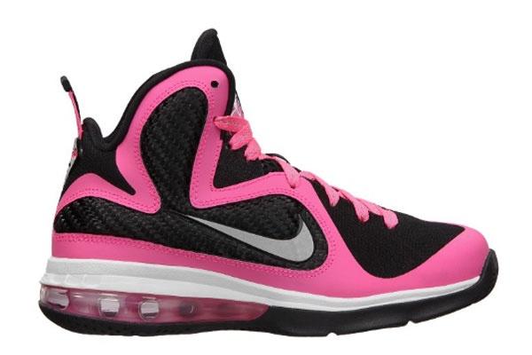 Buy Womens Lebrons Pink Lebron 9 Laser Pink