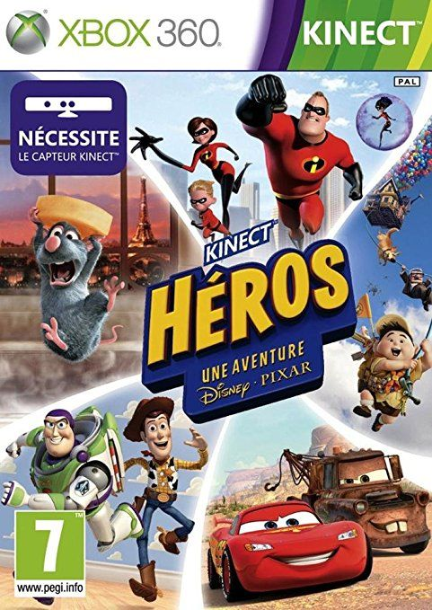 Microsoft Kinect Rush: A Disney Pixar Adventure, Xbox 360, FR