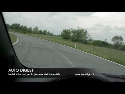 Fiat Abarth  500 Cabrio on track