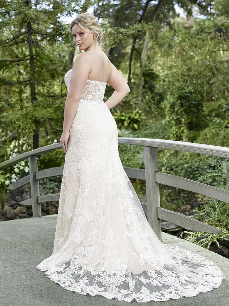 57 best plus size wedding dresses images on pinterest for How much are casablanca wedding dresses