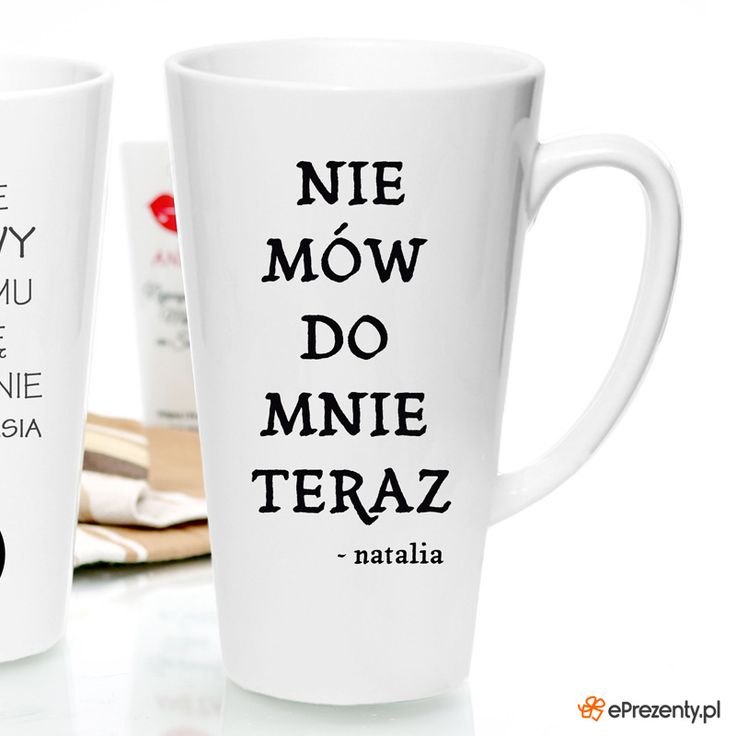 Kubek z zabawnym napisem na poranną kawę -> https://eprezenty.pl/lp/112880