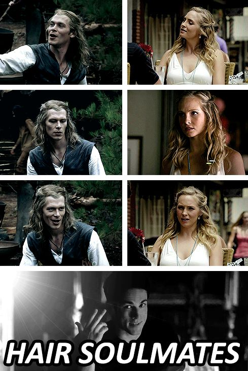 The Vampire Diaries - Klaus, Caroline & Tyler