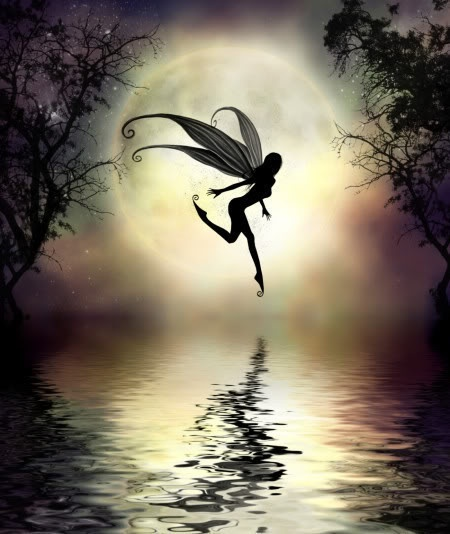tip toeing through the moonlight.