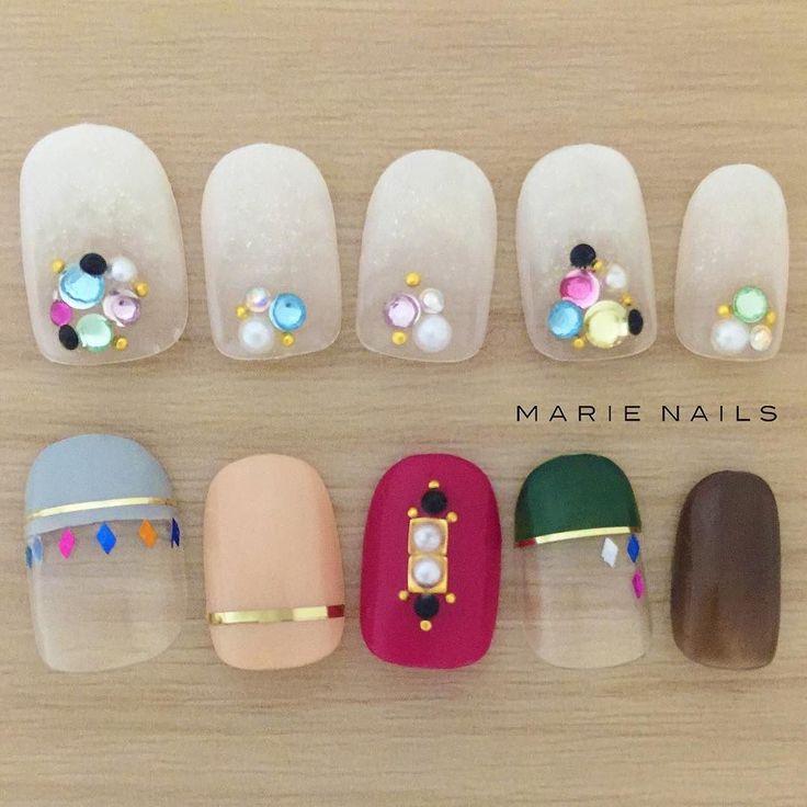 #マリーネイルズ #ネイル #kawaii #kyoto #ジェルネイル #ネイルアート #swag #marienails #ネイルデザイン #naildesigns #trend #nail #toocute #pretty #nails #ファッション #naildesign #ネイルサロン #beautiful #nailart #tokyo #fashion #ootd #nailist #ネイリスト #gelnails #whitenails #rednails #ショートネイル #大人ネイル