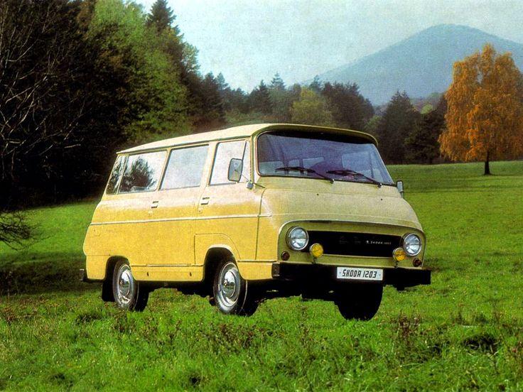 #Skoda 1203 minibus