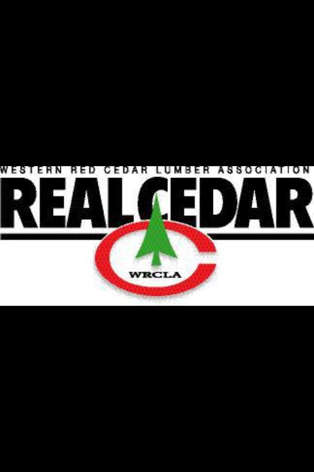 We are proud to be apart of the Western Red Cedar Lumber Association! We have the privilege of being certified because of the lumber we buy, mill and sell! Call or stop by today to find out more! 503.253.5821 16369 NE Sandy Blvd. Portland OR 97230  www.customcedarproductsinc.com #westernredcedar #WRCLA #cedar #cedarfencing #decking #weekendproject #DIY #realcedar #westernforrestproducts