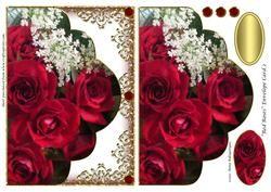 Rode Rozen Envelop Card 2