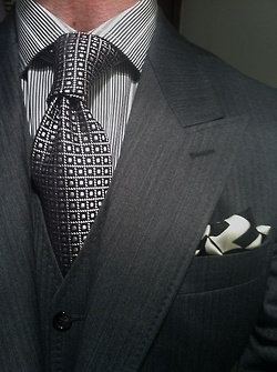 Pattern / texture combo is fabulous. #Menswear Men's Lifestyle, Fashion and Entertainment: Archive