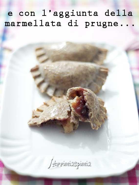 Fagottini alle pere senza glutine, vegan e senza zucchero...