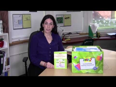 ASSESSMENT: The Developmental Reading Assessment (DRA) is a standardized test that can assess a student's level of reading comprehension. This is a useful tool, as it helps teachers to identify books and materials that are at their students' levels, to assess their progress throughout the year, and to be able to continuously adapt their materials and teaching to fit their needs.